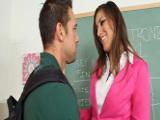 Sexo con la profesora, vaya zorra