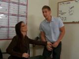 Sexo con la profesora tras la clase
