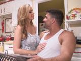 Sexo en la cocina con madurita buenorra