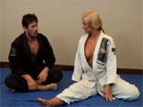 Un polvo durante la clase de judo