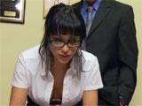 Abella Anderson, una secretaria muy sexy