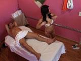 Camara oculta en la sala de masajes