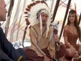 Reconciliación entre indios y ejercito de USA