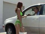 La chica del lavadero de coches
