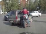 Los semaforos en algunos sitios de Rusia