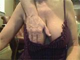 Madura follando en la webcam porno