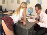 Mi profesor, un hombre facil de engañar