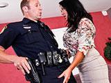 La porra del señor agente de policia