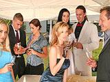 Orgia entre los invitados de la boda