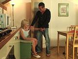 Sexo en casa de mi novia con su madre