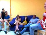 Ainara en una orgia con la madre y la hija del porno - Españolas