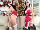 Abella Anderson y Rebeca Linares: Feliz 2012